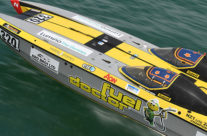 SUPERBOAT 600 OFFSHORE RACE BOAT