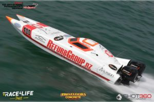 NZ Offshore Powerboat Series, R2 Beachlands, New Zealand on the 18th February 2017. Copyright photo: Jeremy Ward / www.shot360.co.nz